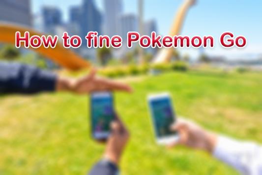 How to fine Pokemon Go apk screenshot