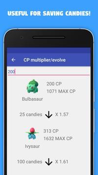 Info/Guide for pokemon go apk screenshot