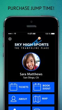 Sky High Sports poster