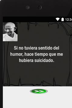 Gandhi Frases interesantes apk screenshot