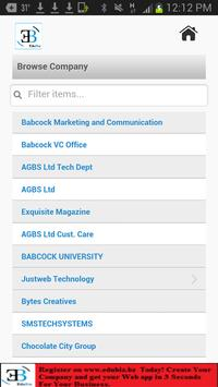 EduBiz apk screenshot