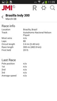 JMI Motorsport Schedules apk screenshot