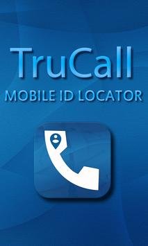 Truecall Mobile ID Locator poster