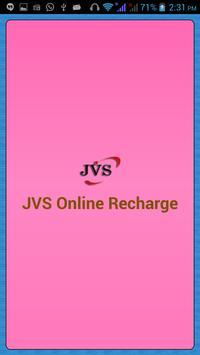 JVS Online Recharge poster