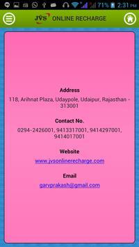 JVS Online Recharge apk screenshot