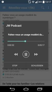 JW Podcast (français) apk screenshot