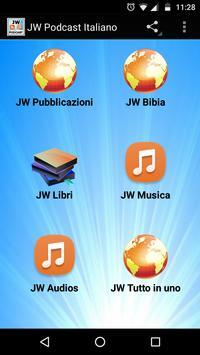 JW Poscast Italiano apk screenshot