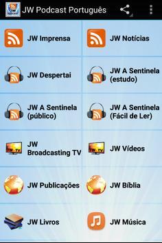 JW Podcast Portugués poster