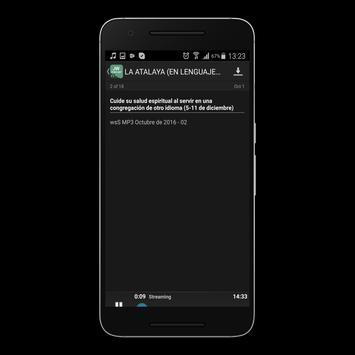 JW Podcast(español) apk screenshot