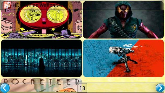 HD Comics Wallpapers poster