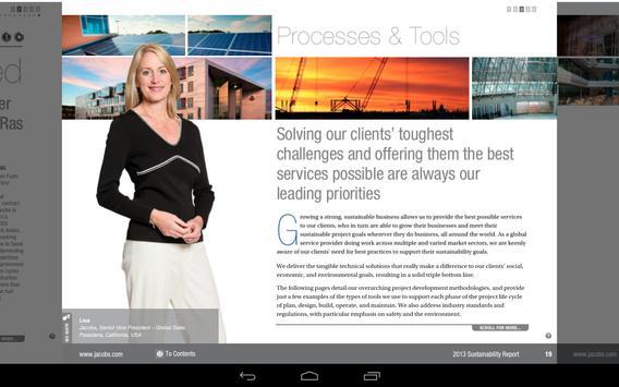 2013 Sustainability Report apk screenshot