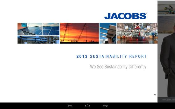 2013 Sustainability Report poster
