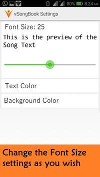 vSongBook apk screenshot