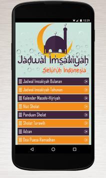 Jadwal Imsak poster