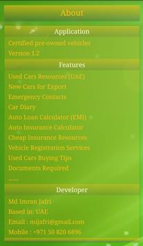 Certified Pre-owned Cars UAE apk screenshot