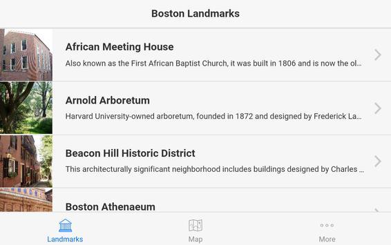 Boston Landmarks apk screenshot