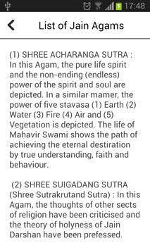Jain Agam Antagad Sutra apk screenshot