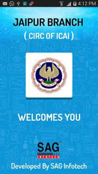 Jaipur Branch ( CIRC of ICAI ) poster