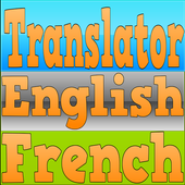 Translator English French icon