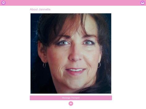 Janette Massage apk screenshot
