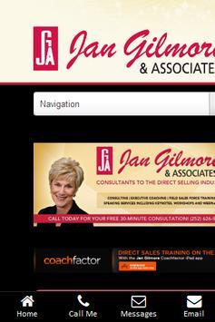 Jan Gilmore & Associates App poster