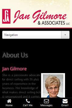 Jan Gilmore & Associates App apk screenshot