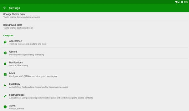 OK SMS apk screenshot