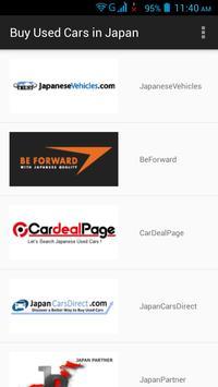 Buy Used Cars in Japan apk screenshot