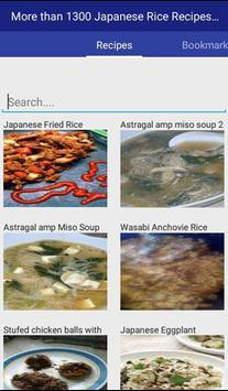 Japanese Rice Recipes Complete apk screenshot