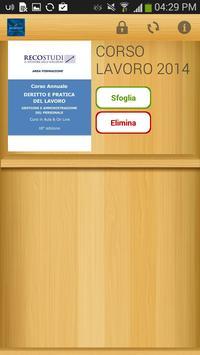 Reco Studi - Corso Lavoro poster