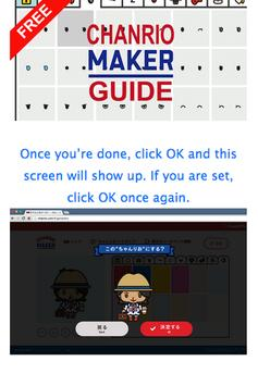 Guide For Chanrio Maker apk screenshot