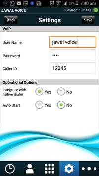 JAWAL VOICE apk screenshot