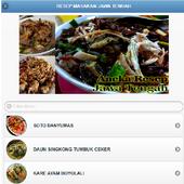 resep makanan jawa tengah icon