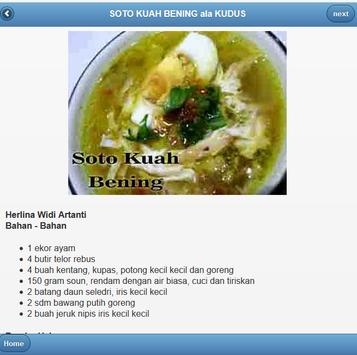resep makanan jawa tengah apk screenshot