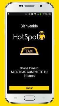 HotSpotG -TAXI poster