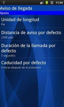 Arrival Notice (missed call) apk screenshot