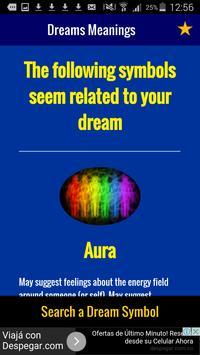 Dreams Meanings (Free App) apk screenshot