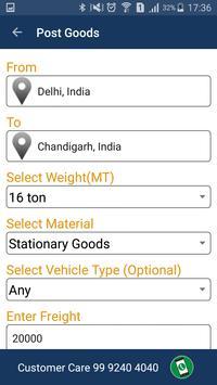 LOAD24x7-Post Goods & Vehicles apk screenshot