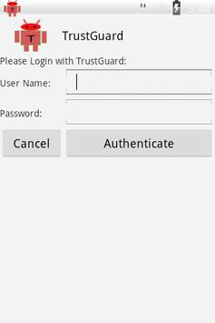 TrustGuard apk screenshot