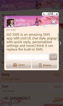 GO SMS Pro Valentine love them apk screenshot
