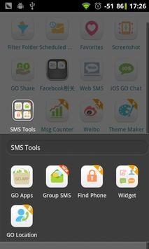 GO SMS Group sms plug-in 4 apk screenshot