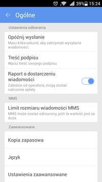 GO SMS Pro Polish language poster