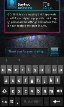 GO SMS Pro OpticalCard Pop Thx apk screenshot