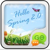 GO SMS PRO Spring SuperThemeEX icon