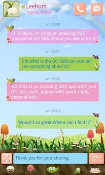 GO SMS PRO Spring SuperThemeEX poster
