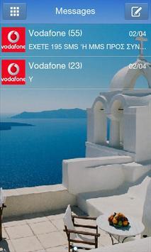 GO SMS Pro Santorini Theme poster