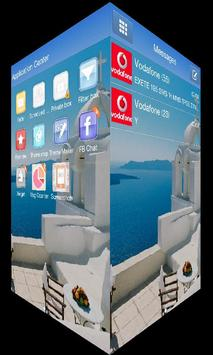 GO SMS Pro Santorini Theme apk screenshot