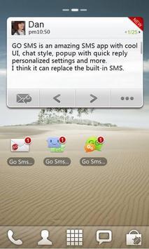GO SMS Pro Widget apk screenshot