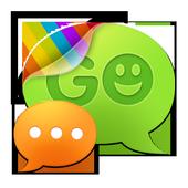 GO SMS Pro Black Texture Theme icon
