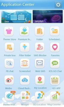 GO SMS Pro GO1.0 Theme apk screenshot